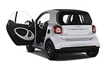 Car images close up view of 2017 Smart fortwo prime 3 Door micro car doors