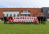 Saturday 8th September 2018 | Ulster U19s vs Connacht U19s<br /> <br /> The Ulster U19 Squad during the U19 Inter-Pro between Ulster and Connacht at Bangor Grammar School, Bangor, County Down, Northern Ireland. Photo by John Dickson / DICKSONDIGITAL
