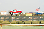 Truck and boat give away to be drawn for March 15th during the Honeybee Stakes (Grade III) at Oaklawn Park in Hot Springs, Arkansas-USA on March 8, 2014. (Credit Image: © Justin Manning/Eclipse/ZUMAPRESS.com)