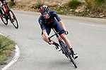 Salvatore Puccio (ITA) Ineos Grenadiers in the breakaway during Stage 18 of La Vuelta d'Espana 2021, running 162.6km from Salas to Alto del Gamoniteiru, Spain. 2nd September 2021.    <br /> Picture: Luis Angel Gomez/Photogomezsport   Cyclefile<br /> <br /> All photos usage must carry mandatory copyright credit (© Cyclefile   Luis Angel Gomez/Photogomezsport)