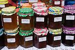 May Day English Village Fair.  Home made jam. South Stoke, Berkshire UK 2006