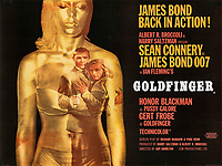 BNPS.co.uk (01202 558833)<br /> Pic: Lyon&Turnbull/BNPS<br /> <br /> Pictured: 'Goldfinger' with an estimate of £6,000-£8,000.<br /> <br /> A collection of original James Bond posters featuring Roger Moore and Sean Connery could sell for a whopping £26,400.<br /> <br /> The set of 15 vintage posters include rare signed copies by Moore and highly desirable ones advertising Connery's earliest films.<br /> <br /> They depict classic icons spanning over 20 years of 007 history such as the 'gold lady' from Goldfinger, 1964, tipped to sell for £8000.