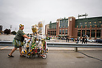 Green Bay Packers vs. New Orleans Saints at Lambeau Field in Green Bay, Wis., on October 22, 2017.
