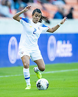 HOUSTON, TX - JANUARY 31: Gabriela Guillen #2 of Costa Rica during a game between Haiti and Costa Rica at BBVA Stadium on January 31, 2020 in Houston, Texas.