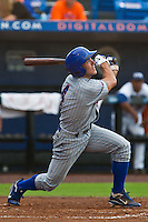 Matthew Szczur #4 of the Daytona Cubs during game 3 of the Florida State League Championship Series against the St. Lucie Mets at Digital Domain Park on Spetember 11, 2011 in Port St. Lucie, Florida. Daytona won the game 4-2 to win the Florida State League Championship.  Photo by Scott Jontes / Four Seam Images