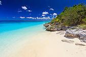 Plage de Peng, baie du Santal, Lifou, Nouvelle-Calédonie