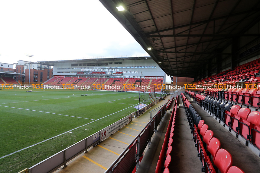 General view of the ground during Leyton Orient vs Salford City, Sky Bet EFL League 2 Football at The Breyer Group Stadium on 2nd January 2021