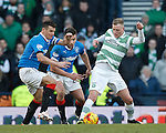 Lee McCulloch and Darren McGregor with John Guidetti