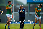 Jack Barry, Kerry, Kerry Manager Peter Keane after the Allianz Football League Division 1 Semi-Final, between Tyrone and Kerry at Fitzgerald Stadium, Killarney, on Saturday.