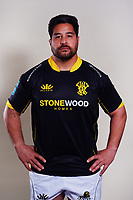 Pekahou Cowan. 2021 Wellington Lions official rugby headshots at Rugby League Park in Wellington, New Zealand on Monday, 26 July 2021. Photo: Dave Lintott / lintottphoto.co.nz