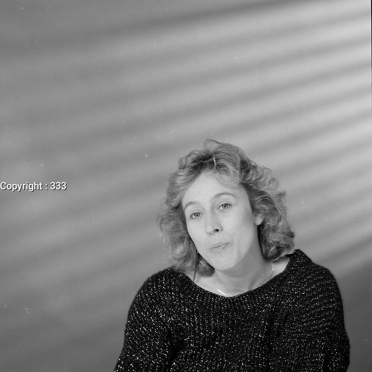 Portrait de la comedienne<br /> <br /> Marie Tifo<br /> probalement dans les annees 80.<br /> <br /> <br /> PHOTO :  Agence Quebec Presse