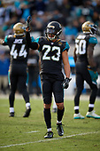 Jacksonville Jaguars Tyler Patmon (23) during an NFL Wild-Card football game against the Buffalo Bills, Sunday, January 7, 2018, in Jacksonville, Fla.  (Mike Janes Photography)