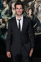 """HOLLYWOOD, CA - DECEMBER 02: James Maslow arriving at the Los Angeles Premiere Of Warner Bros' """"The Hobbit: The Desolation Of Smaug"""" held at Dolby Theatre on December 2, 2013 in Hollywood, California. (Photo by Xavier Collin/Celebrity Monitor)"""