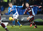 St Johnstone v Stenhousemuir…21.01.17  McDiarmid Park  Scottish Cup<br />David Wotherspoon and Vincent Berry<br />Picture by Graeme Hart.<br />Copyright Perthshire Picture Agency<br />Tel: 01738 623350  Mobile: 07990 594431