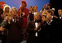 Gala d'ouverture pour l' Inauguration du reseau de television Quatre-Saisons. 7 septembre 1986<br /> <br /> PHOTO : Agence Quebec Presse