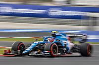 8th October 2021; Formula 1 Turkish Grand Prix 2021 free practise at the Istanbul Park Circuit, Istanbul;  OCON Esteban fra, Alpine F1 A521