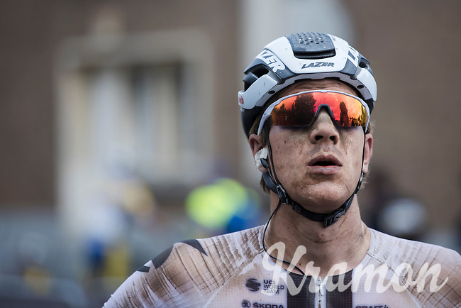 2nd place finisher Nils Eekhoff (NED/Team Sunweb)<br /> <br /> Dwars Door Het Hageland 2020<br /> One Day Race: Aarschot – Diest 180km (UCI 1.1)<br /> Bingoal Cycling Cup 2020