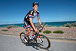 Koen De Kort Team Giant-Alpecin on a training ride days before the Santos Tour Down-Under 2015 in Adelaide, Australia. 16th January 2015.<br /> Photo: Wessel van Keuk/Cor Vos/www.newsfile.ie