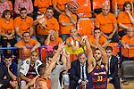 FC Barcelona Lassa's Stratos Perperoglou during the match of Endesa ACB League between Fuenlabrada Montakit and FC Barcelona Lassa at Fernando Martin Stadium in fuelnabrada,  Madrid, Spain. October 30, 2016. (ALTERPHOTOS/Rodrigo Jimenez)