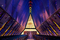 Air Force Academy cadet chapel.