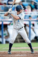 July 16, 2009:  Shortstop Scott Nicol of the Vermont Lake Monsters during a game at Russell Diethrick Park in Jamestown Jammers, NY.  The Lake Monsters are the NY-Penn League Short-Season Class-A affiliate of the Washington Nationals.  Photo By Mike Janes/Four Seam Images