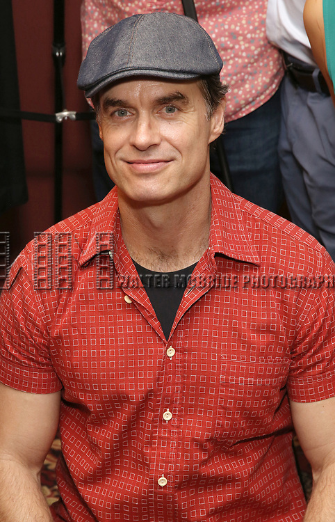 Murray Bartlett attends the Julie Taymor Sardi's Caricature unveiling at Sardi's Restaurant on November 3, 2017 in New York City.