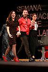Spanish actors Nuria Gago, Ruben Ochandiano and Aida Folch during the 60th Seminci. October 24,2015.(ALTERPHOTOS/Acero)
