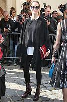 SOFIA SANCHEZ - ASSISTE AU DEFILE DE LA COLLECTION PRET A PORTER PRINTEMPS/ETE 2018 DE 'CHRISTIAN DIOR' PENDANT LA FASHION WEEK A PARIS, FRANCE, LE 26/09/2017.