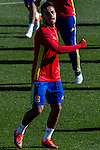 Spainsh Thiago Alcantara during the training of the spanish national football team in the city of football of Las Rozas in Madrid, Spain. November 10, 2016. (ALTERPHOTOS/Rodrigo Jimenez)