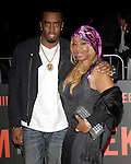 Sean Combs & mom at the Universal Pictures L.A. Premiere of Get Him to The Greek held at The Greek Theatre in Los Feliz, California on May 25,2010                                                                   Copyright 2010  DVS / RockinExposures