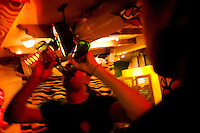 Night life-style. Tequila, coke & dope. Puerto Escondido, Mexico.