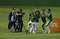 Campinas (SP), 25/10/2020 - Guarani - Avaí - Romércio comemora gol do Guarani.  Partida entre Guarani e Avaí válido pela 18ª rodada da Série B do Campeonato Brasileiro 2020, neste domingo (25), no Estádio Brinco de Ouro, em Campinas, interior de São Paulo.