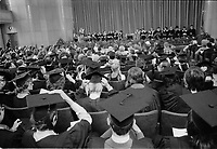 Remise des diplomes honorifiques de l'UQAM, le 25 mai 1973<br /> <br /> PHOTO :  Agence Quebec Presse - Alain Renaud