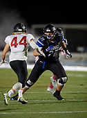 Clarkson North vs IMG Academy Football on October 4, 2019 at IMG Academy in Bradenton, Florida.  (Mike Janes Photography)