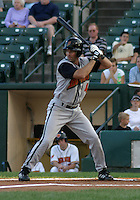 August 26, 2003:  Zach Sorensen of the Buffalo Bisons, Class-AAA affiliate of the Cleveland Indians, during a International League game at Frontier Field in Rochester, NY.  Photo by:  Mike Janes/Four Seam Images