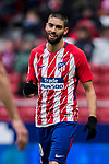Yannick Ferreira Carrasco of Atletico de Madrid reacts during the La Liga 2017-18 match between Atletico de Madrid and Getafe CF at Wanda Metropolitano on January 06 2018 in Madrid, Spain. Photo by Diego Gonzalez / Power Sport Images