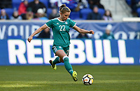 Harrison, N.J. - Sunday March 04, 2018: Tabea Kemme during a 2018 SheBelieves Cup match between the women's national teams of the Germany (GER) and England (ENG) at Red Bull Arena.