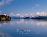 Sailboat, Mud Bay, Lopez Island, San Juan Islands, Washington