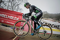 Ever since returning to cyclocross (after 2 years of nit participating) Marianne Vos (NED/WM3) is back to her winning habits after only a few races<br /> <br />  GP Sven Nys 2017