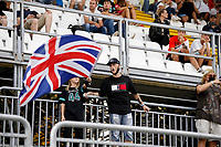 10th September, September 2021; Nationale di Monza, Monza, Italy; FIA Formula 1 Grand Prix of Italy, Free practise and qualifying for sprint race: Fans of 44 Lewis Hamilton GBR,