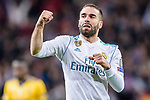 Daniel Carvajal Ramos of Real Madrid celebrates during the UEFA Champions League 2017-18 quarter-finals (2nd leg) match between Real Madrid and Juventus at Estadio Santiago Bernabeu on 11 April 2018 in Madrid, Spain. Photo by Diego Souto / Power Sport Images