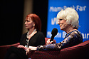 """MIAMI, FL - FEBRUARY 06: Radio host/author Diane Rehm in conversation with Dr. Cristina Pozo-Kaderman (L) about Diane Rehm's new book """"When My Time Comes"""" Presented in collaboration with Miami Book Fair and Books and Books at Miami Dade College-Wolfson Auditorium on February 6, 2020 in Miami, Florida.   ( Photo by Johnny Louis / jlnphotography.com )"""