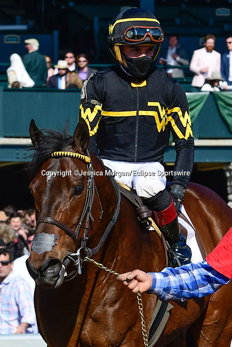 April 03, 2021: Bound For Nowhere #13 ridden by Joel Rosario outlasts Imprimis #2 ridden by Paco Lopez to win the Shakertown Stakes (Grade 2) on Blue Grass Stakes Day at Keeneland Race Course in Lexington, Kentucky on April 03, 2021. Jessica Morgan/Eclipse Sportswire/CSM