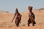 Himba women in Northwest Namiba.