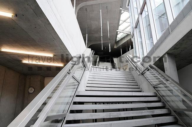 Baureportage, Architektur, Neue Realschule Mühleholz 2, Vaduz, Liechtenstein