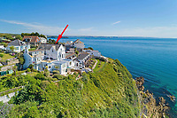 Cliff-top home that has one of the finest sea views in the country  on the market for £750,000.
