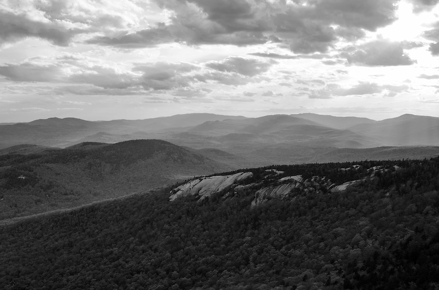 An unsettled weather day on Welch Mtn.