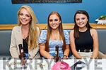 Roisin Lynch, Susan Mason and Karla Hanafin enjoying the evening in Benners Hotel on Saturday.