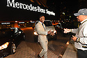 New Orleans Saints Wide Receiver Brandin Cooks greets local hero Pastor Fred Luter Jr. after receiving his new Mercedes-Benz vehicle for the brand's 10 Years Stronger initiative on November 23, 2015.