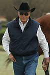 HOT SPRINGS, AR - FEBRUARY 20: Trainer D. Wayne Lukas before the Southwest Stakes at Oaklawn Park on February 20, 2017 in Hot Springs, Arkansas. (Photo by Justin Manning/Eclipse Sportswire/Getty Images)